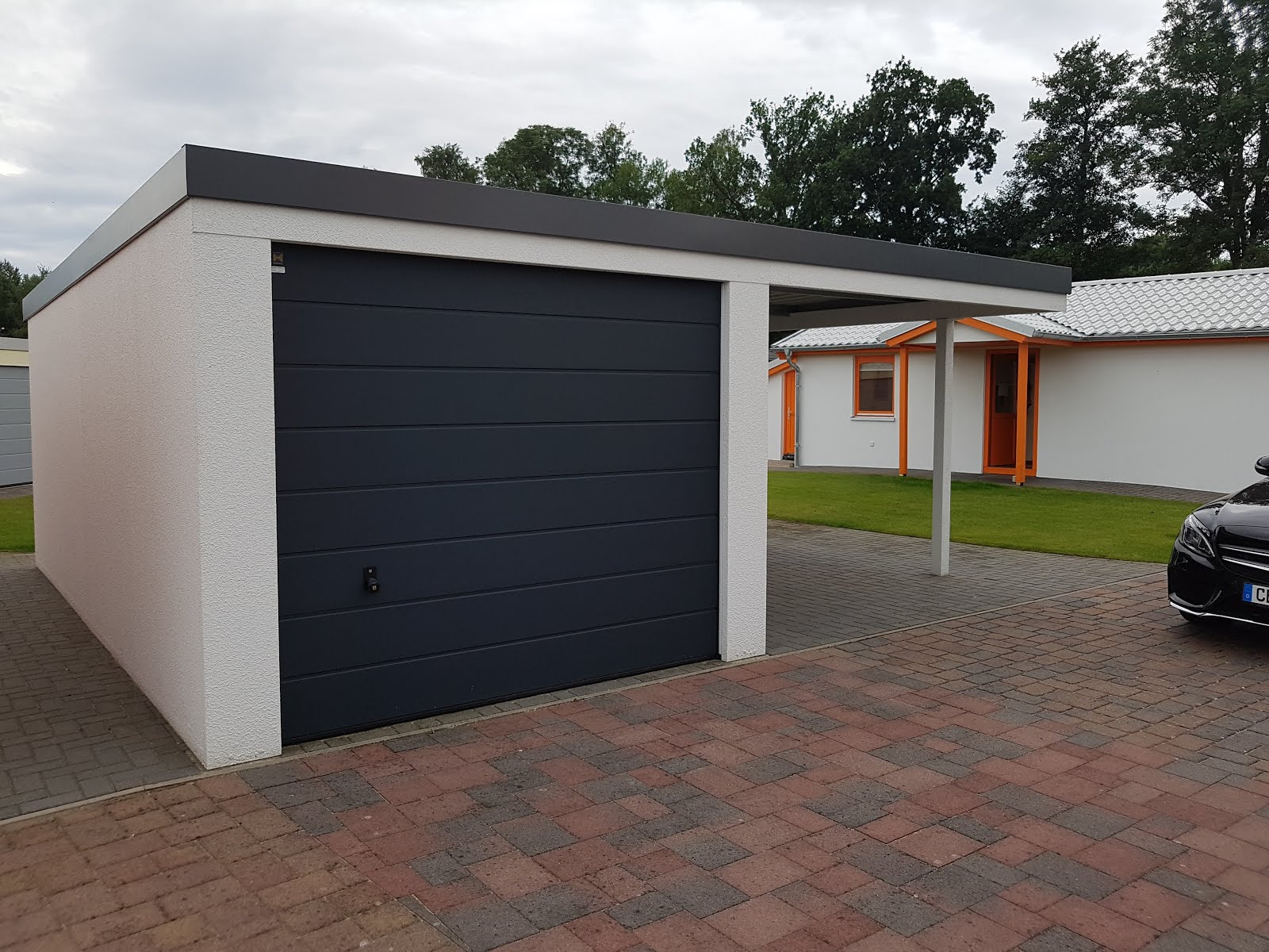 Garage Und Carport Kombination Die Garage Carport
