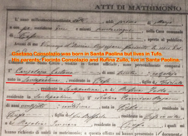 this marriage document for a sibling told me the truth about my great great grandmother