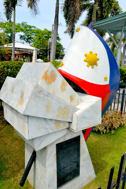 Imus Plaza Battle of Alapan monument