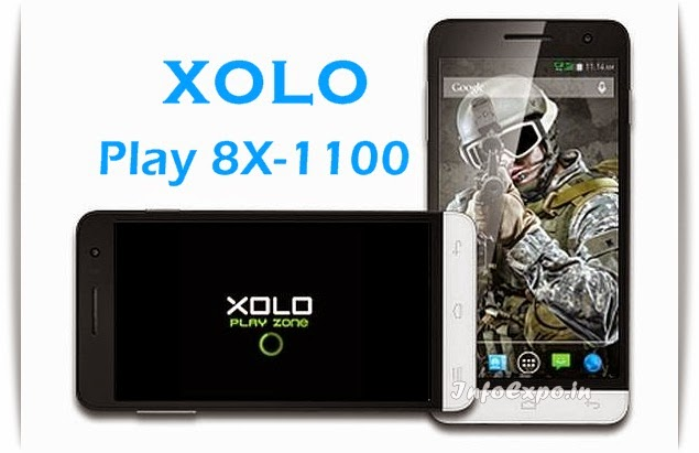 Xolo Play 8X-1100: 5-inch, 1.7GHz Octa-core, 2 GB RAM Android KitKat Specs