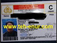 Mudahnya Ujian Praktek SIM C di Polres Kota Cimahi