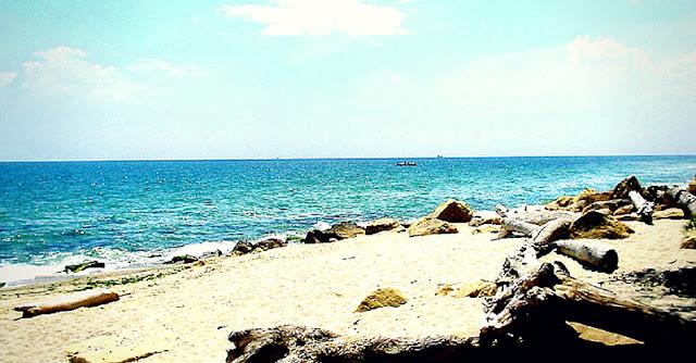 спокоен плаж край Варна
