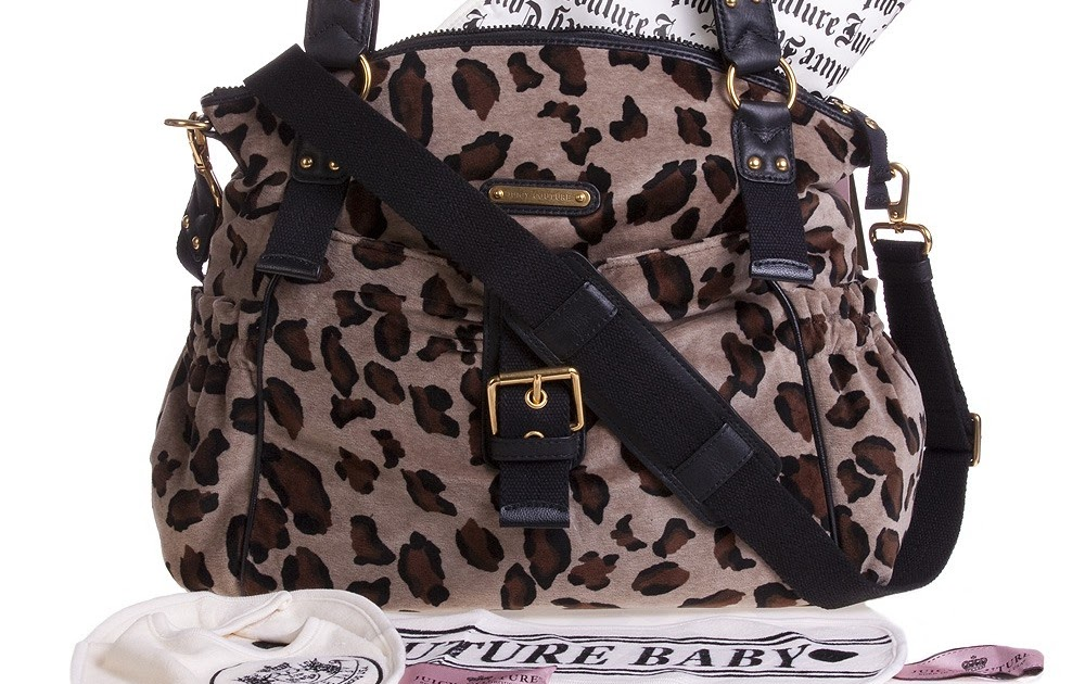 Designer Baby: A Wild Leopard-Print Baby Bag from Juicy ...