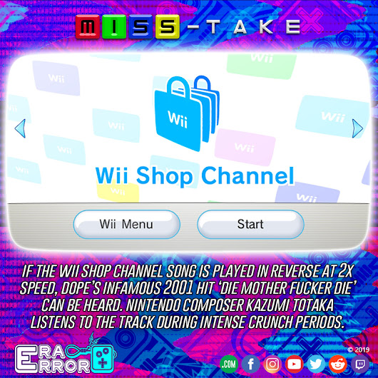 Miss-Take: Wii Shop Music