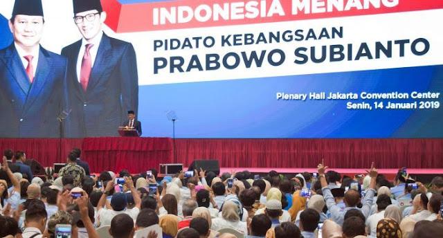 [Telaah Pidato Prabowo] Jargon, Kriminalisasi Ulama dan Hal yang Tidak Bisa Dipahaminya