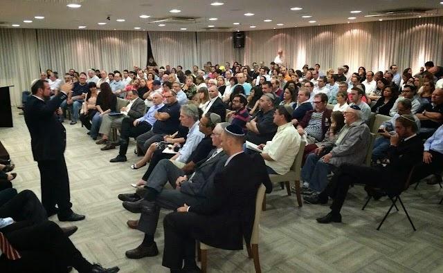 Grande público vai a encontros em SP e Rio para se informar sobre emigração a Israel
