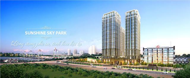 Phối cảnh dự án Sunshine Sky Park
