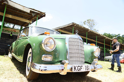 The CBA Africa Concours d'Elegance