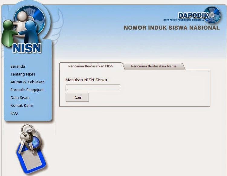 Cara Cek Nomor NISN