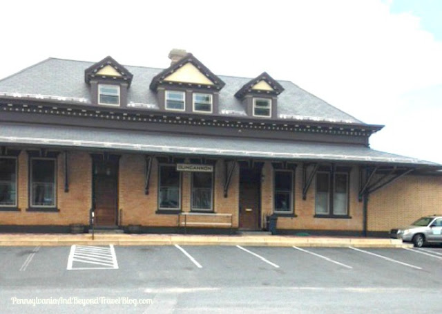 Historic Pennsylvania Railroad Train Station in Duncannon