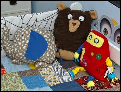 patchwork ciach! na łóżko ;)