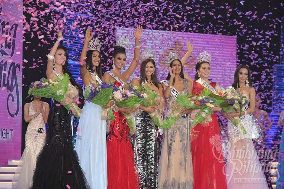 List of Winners: Bb. Pilipinas 2015 Full Results