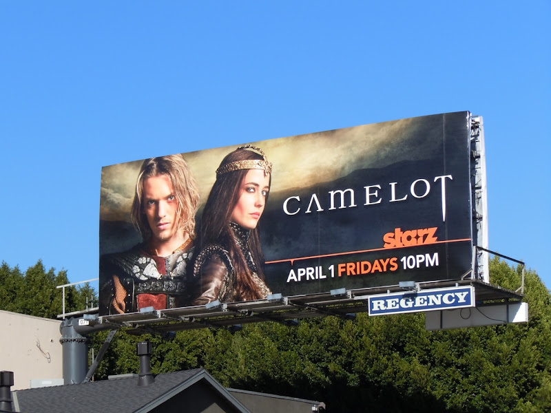 Camelot TV billboard