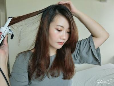 【捲髮棒推薦】Hair*直捲兩用方便攜帶的 Mod's Hair 迷你32mm白晶陶瓷整髮器。輕鬆打造氣質直髮以及浪漫大捲。適合電棒新手的使用教學。