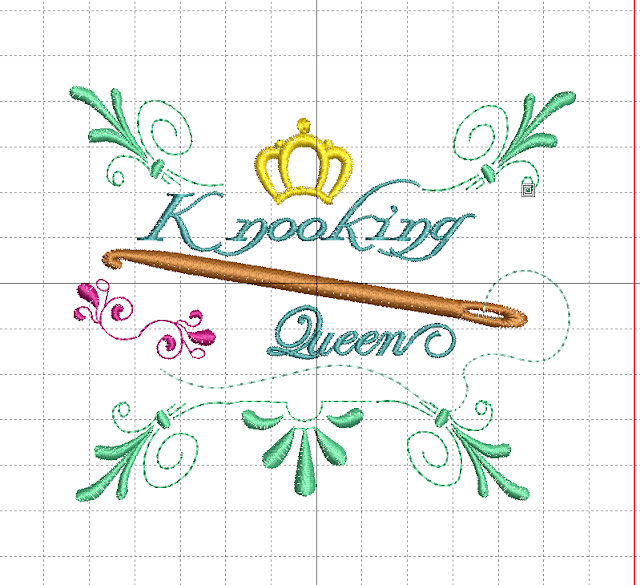 Embroidery Knooking Queen