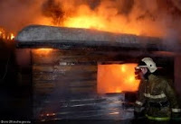 (ФОТО)Пожар Советская, 117 пожарно-спасательная часть, МЧС