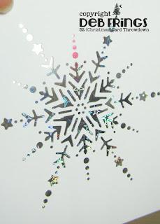 Merry Christmas detail - photo by Deborah Frings - Deborah's Gems