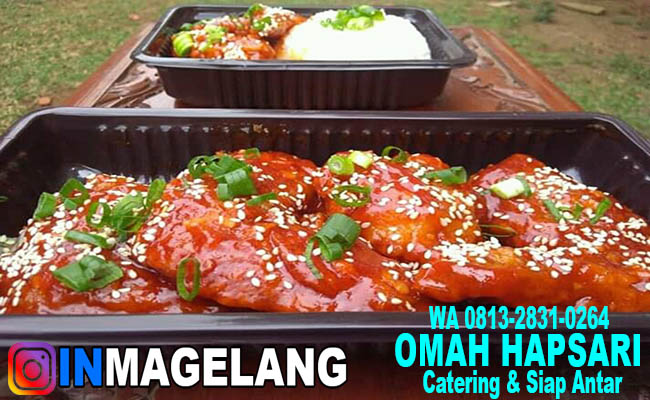 Resep Fire Chicken Ala Omah Hapsari In Magelang