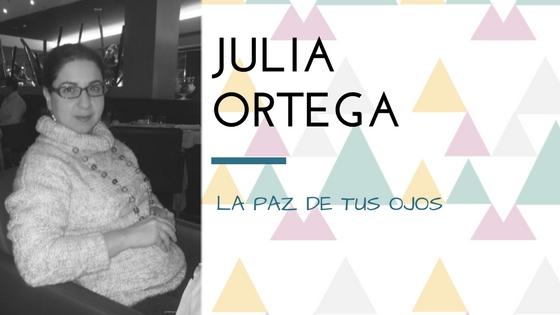 Julia Ortega presenta La paz de tus ojos_Apuntes literarios de novela romántica Paola C. Álvarez