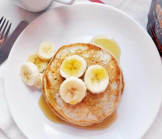как приготовить овсяные панкейки с бананом