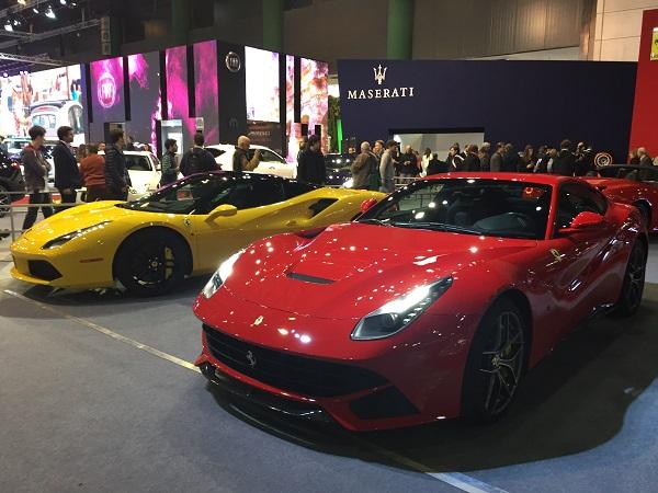 Ferrari F12Berlinetta y Ferrari 488 GTB