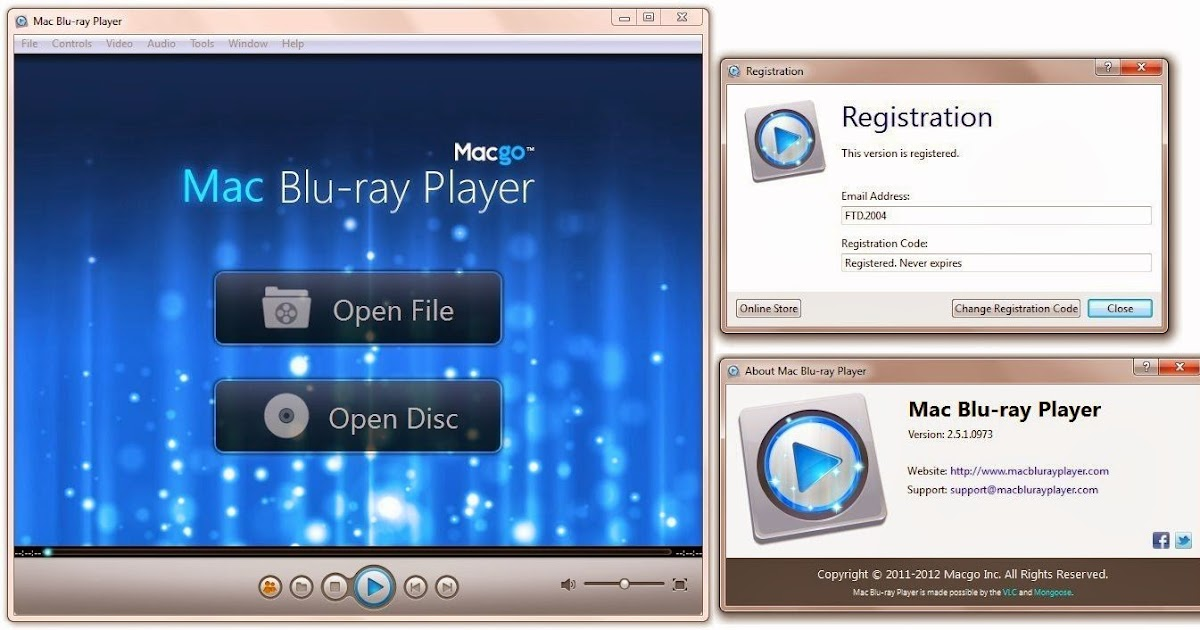 If you want a free Blu-ray player application, this is probably your best bet. Figuring out how to use VLC to play Blu-rays takes a bit of research and involves manually inserting DLL files deep in your computer's directory.