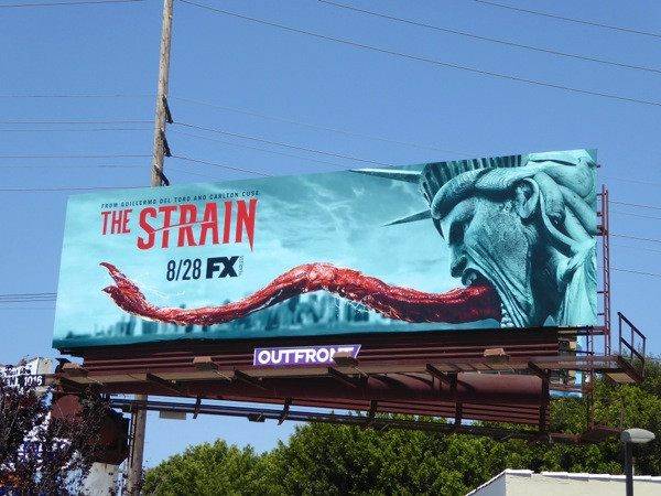 The Strain season 3 Statue of Liberty billboard