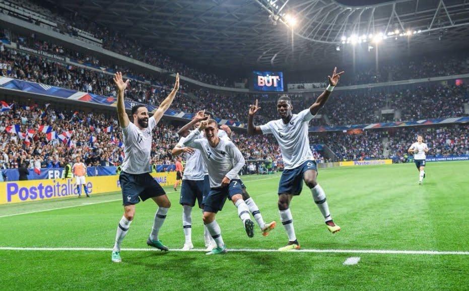 Francia batte Italia 3-1, bellissimo gol di Dembélé