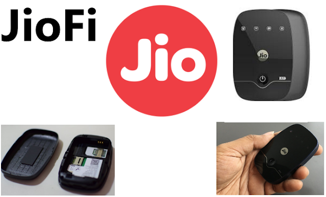 What is Reliance JioFi device ?