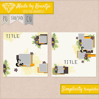 Templates from Made By Keuntje