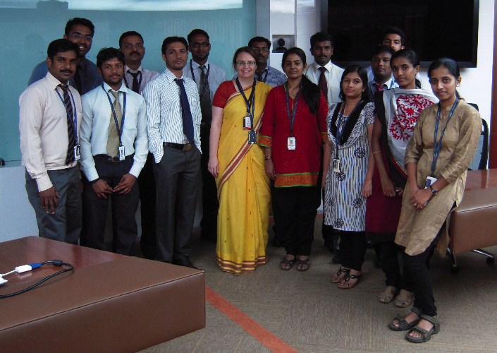 Working with Americans from India