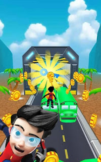 Subway Ejen Ali Surfer Apk - Free Download Android Game