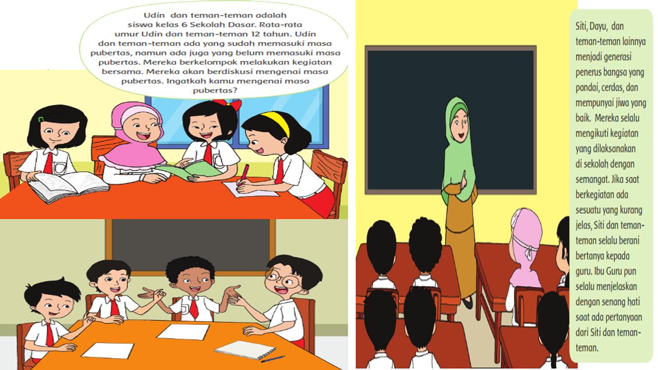 Jurnal Harian Kelas 6 Semester 2 Kurikulum 2013 Revisi 2018