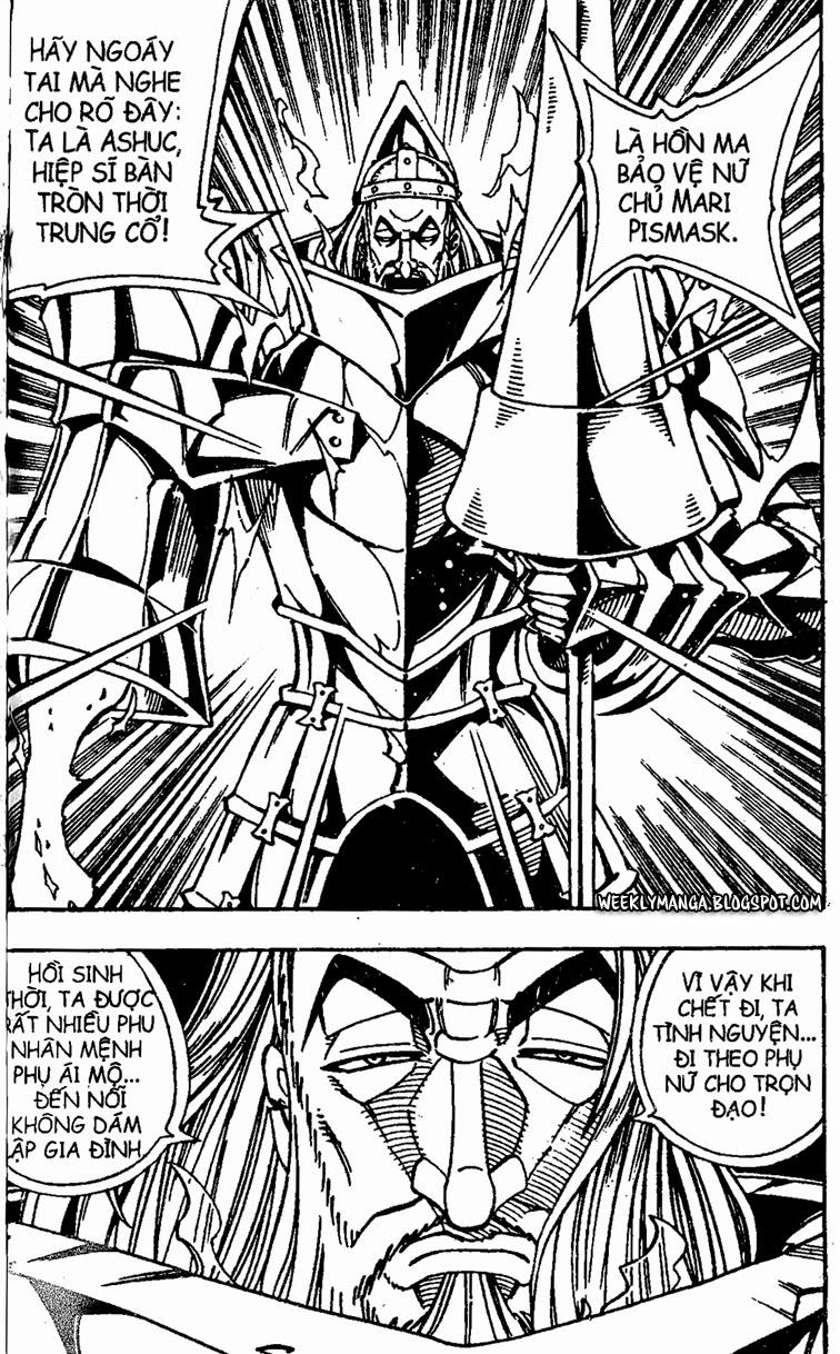Shaman King [Vua pháp thuật] chap 155 trang 4
