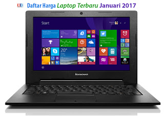Daftar Harga Laptop Terbaru Januari 2017