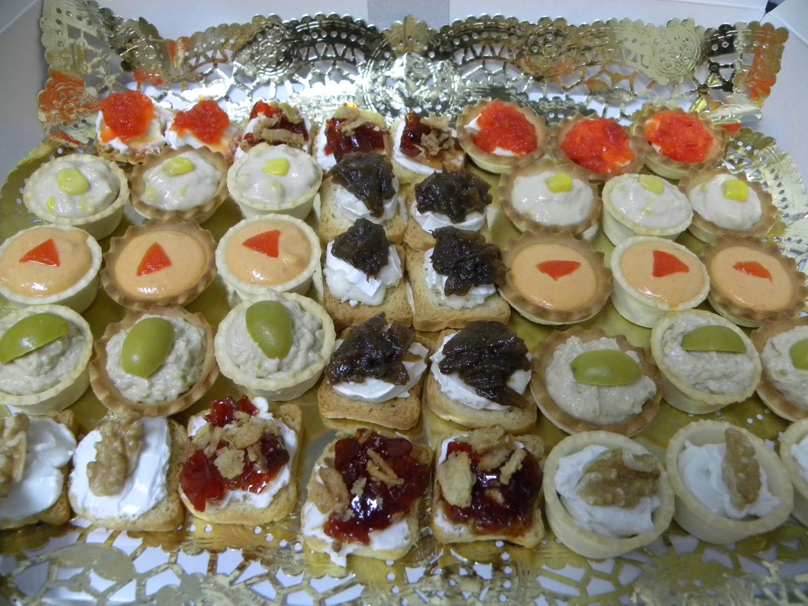 Trasteando en mi cocina tartaletas y canap s variados - Como hacer un canape ...