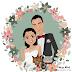 ilustraciones personalizadas para boda