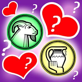 Amor entre Capricornio y Acuario