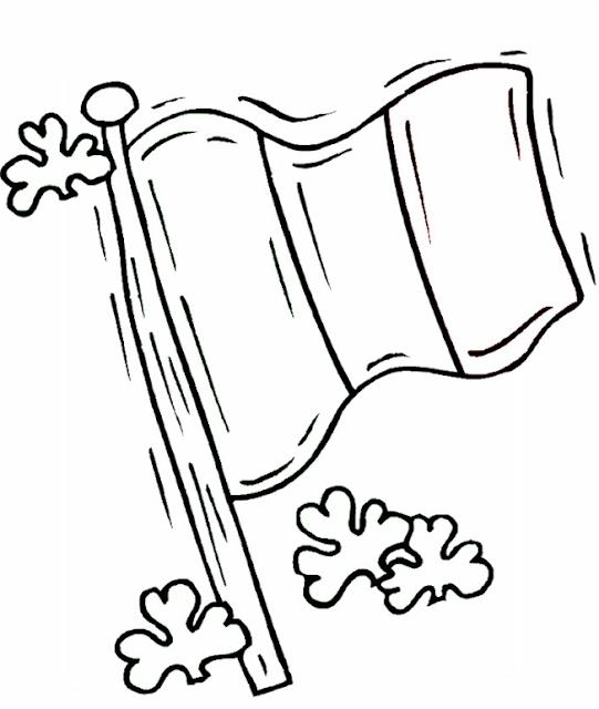 coloriage drapeau de la france