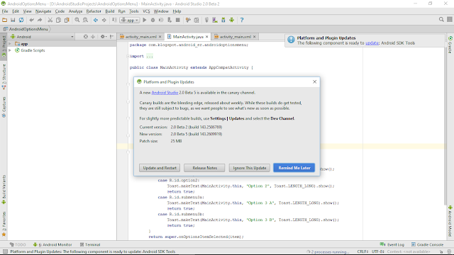 Android Studio 2.0 Beta Five Available Inward The Canary Channel