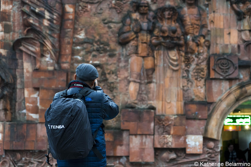 Tenba in Rain in Kutaisi Georgia Best DSLR Camera Backpack Review