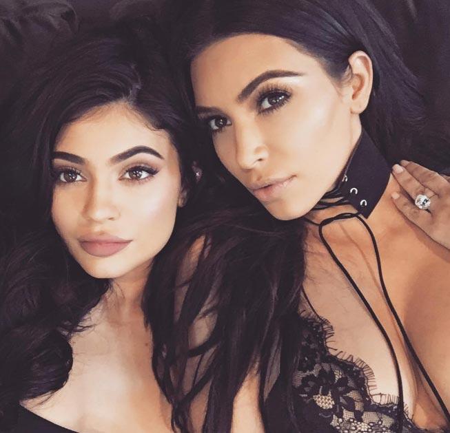Kim Kardashian takes adorable selfie with half sister Kylie Jenner
