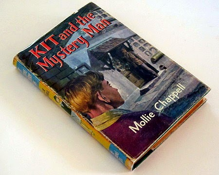 Mollie Chappell Kit and the Mystery Man hardback book with dust jacket