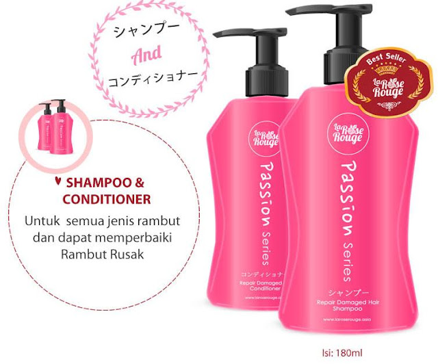 Unboxing Perfect Beauty Box #MeisUniqueBlog La Rose Rouge hair shampoo