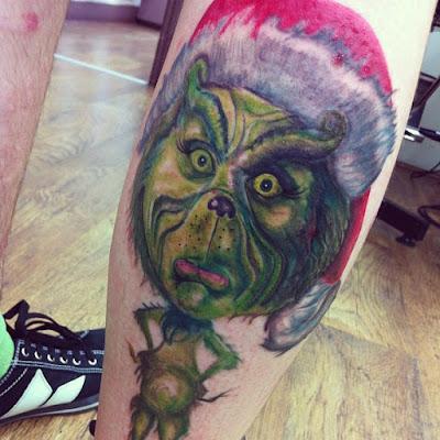Tatuaje del Grinch