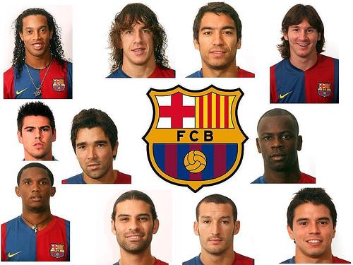 Fc Barcelona Football Players Names