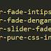 Tips Membuat Slider Fade dengan CSS