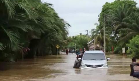 Banjir Setinggi Satu Meter Landa Nagan Raya Aceh