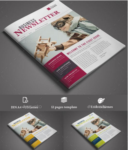 77. Business Newsletter Vol. 4 (Multicolor)