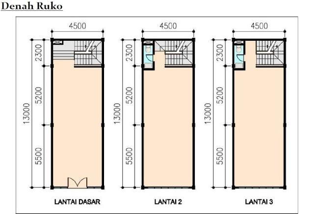 Desain Rumah Mungil 3 Lantai Rumah En